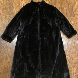 Jackets & Blazers - Vintage Mink Coat